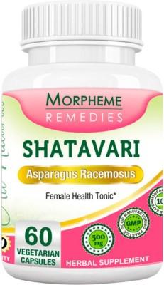 Morpheme Remedies Shatavari (Asparagus Racemous) 500mg Extract