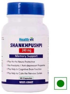 Healthvit Shankhpushpi 240 mg