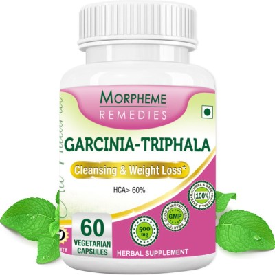 Morpheme Remedies Garcinia - Triphala 500 mg