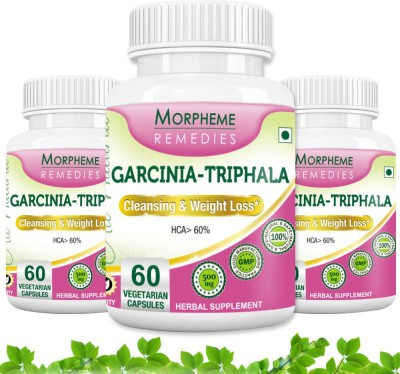 Morpheme Remedies Garcinia Triphala 500 mg (Pack of 3)