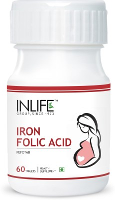 Inlife Iron Folic Acid for Prenatal Health of Women