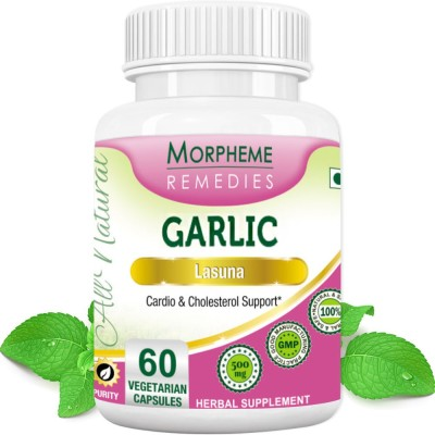 Morpheme Remedies Garlic (Lasuna) 500 mg