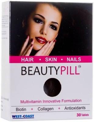 West Coast BeautyPill Biotin + Collagen Innovation Multivitamin