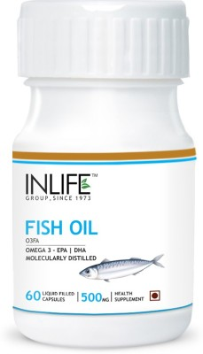Inlife Fish Oil for Brain Health
