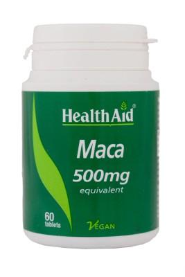 HealthAid Maca 500mg (Equivalent)