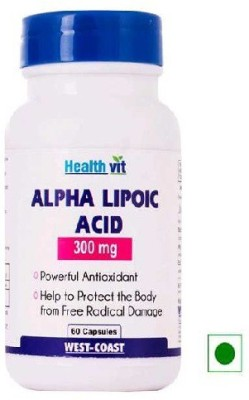 Healthvit Alpha Lipoic Acid 300 mg