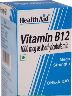HealthAid Vitamin B12 1000mcg Mega Stremgth (Methylcobalamin)