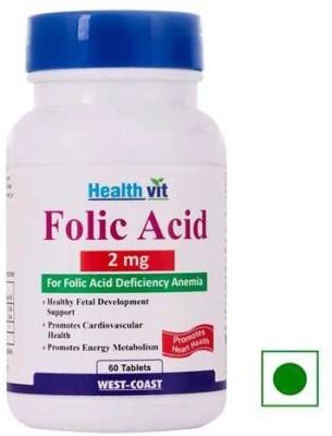 Healthvit Folic Acid 2 mg