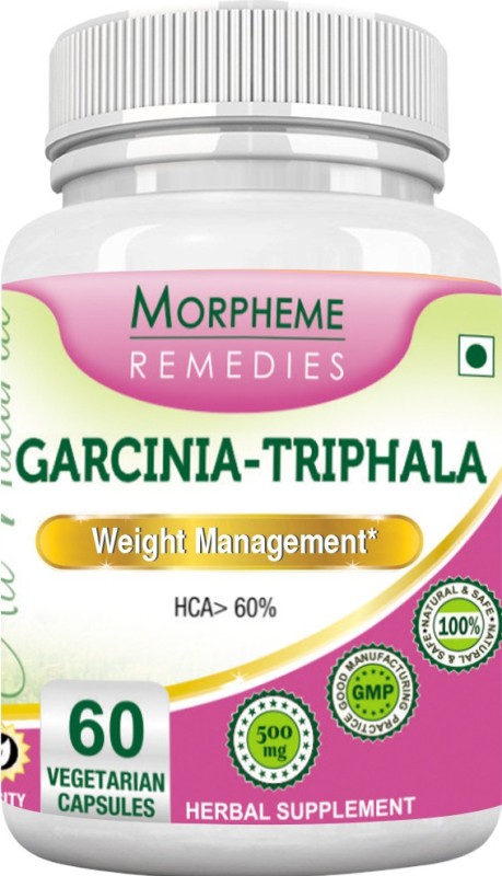 Morpheme Remedies Garcinia - Triphala 500 mg Multi Vitamin(60 No)