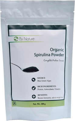 By Nature Organic Spirulina Powder