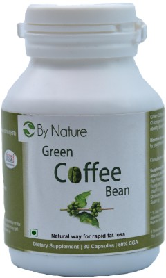By Nature Green Coffee Bean Capsules