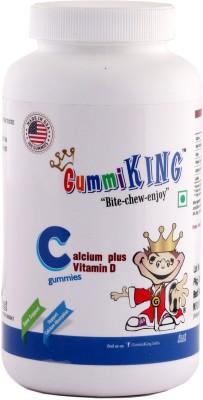 GummiKing Calcium + Vitamin D Gummies