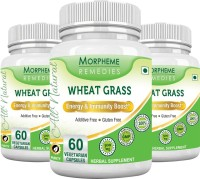 Morpheme Remedies Wheat Grass 500 mg (Pack of 3)(180 No)