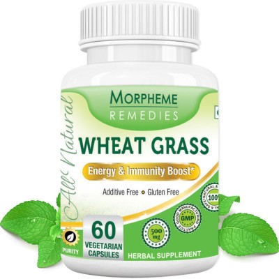 Morpheme Remedies Wheat Grass 500 mg