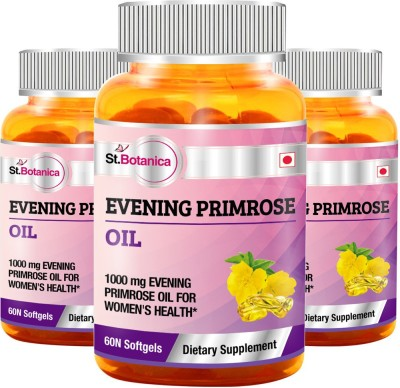 StBotanica Evening Primrose Oil 1000 mg