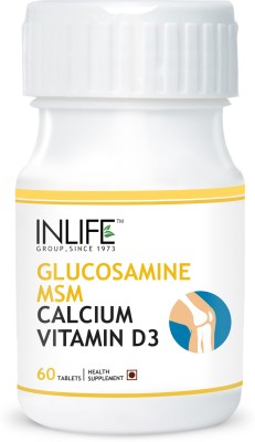 Inlife Glucosamine MSM, Calcium Vitamin D3 for Knee Care