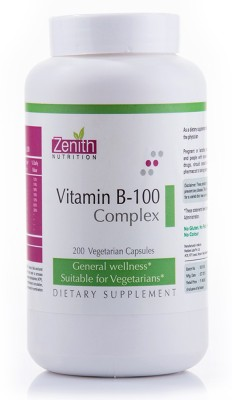 Zenith Nutrition Vitamin B-100 Complex
