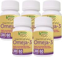 Bhumija Lifesciences Omega3 Fatty Acids (Omeja3) Capsules 60's(5 No)