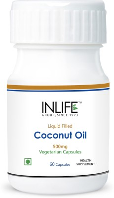 Inlife Liquid Filled Coconut Oil