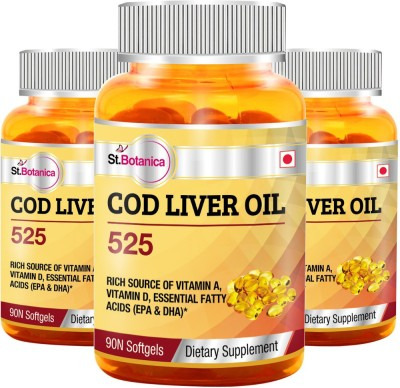 StBotanica COD Liver Oil 525