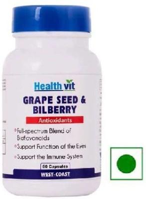 Healthvit Grape Seed & Bilberry