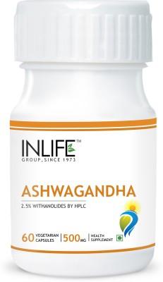 Inlife Ashwagandha, Stress Reliever