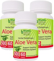 Bhumija Lifesciences Aloevera Capsules 60's(3 No)