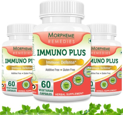 Morpheme Remedies Immuno Plus 500 mg (Pack of 3)