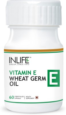 Inlife Vitamin E Wheat Germ Oil for Hair Fall & Acne Marks