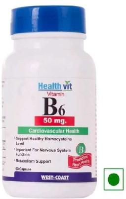 Healthvit B6 Cardiovascular Health 50 mg