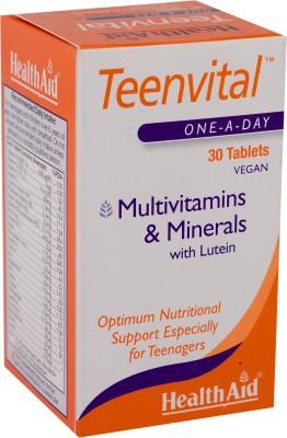 HealthAid Teenvital (Multivitamin & Minerals with Lutein)