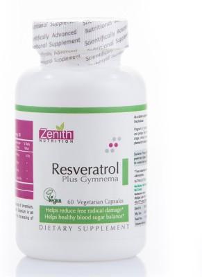 Zenith Nutrition Resveratrol Plus Gymnema Sylvestre