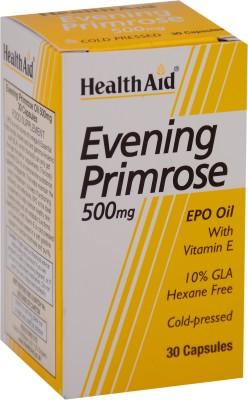 HealthAid Evening Primrose Oil 500 mg