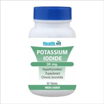 Healthvit Potassium Iodide 30 mg