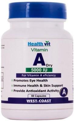 Healthvit Vitamin A Dry 5000 IU