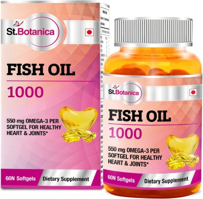 StBotanica Fish Oil 1000 mg (Double Strength)