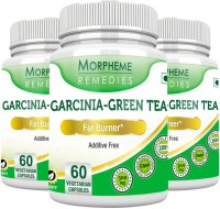 Morpheme Remedies Garcinia Green Tea 500 mg (Pack of 3)(180 No)