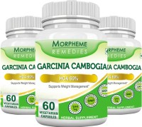 Morpheme Remedies Garcinia Cambogia - HCA 60% 500 mg (Pack of 3)(180 No)