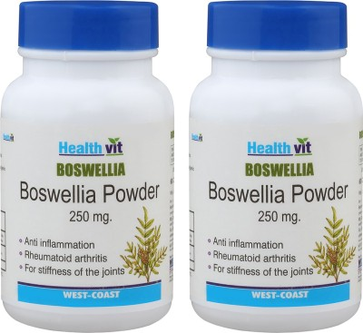 Healthvit Boswellia Powder for Healthy Joints 250 mg