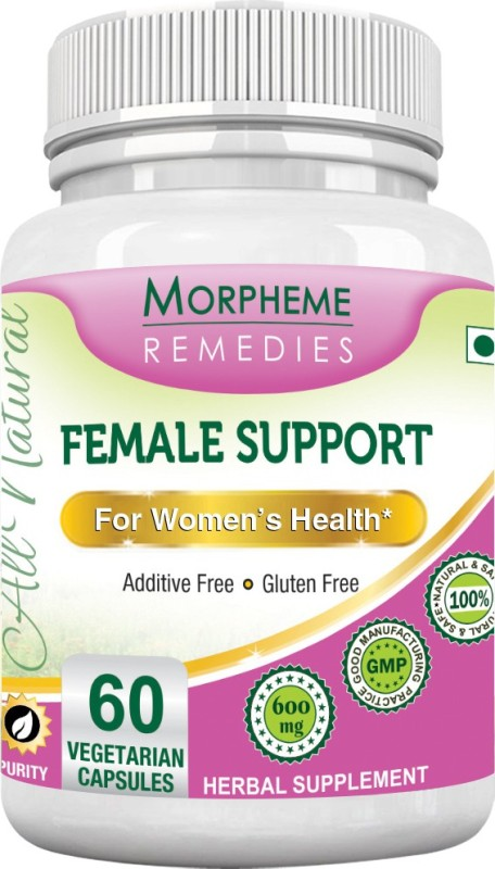 Morpheme Remedies Female Support 600 mg Multi Vitamin(60 No)