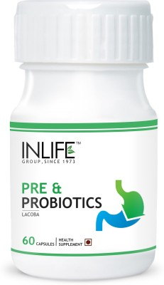 Inlife Pre & Probiotics, Digestion Acidity