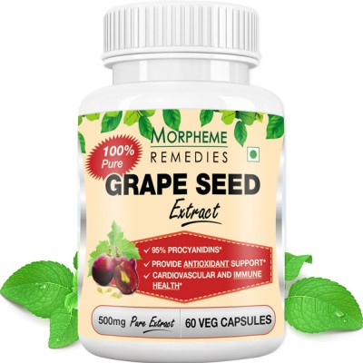 Morpheme Remedies Grape Seed Extract 500 mg