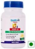 Healthvit Vitamin D3 5000 IU for D3 Defi...