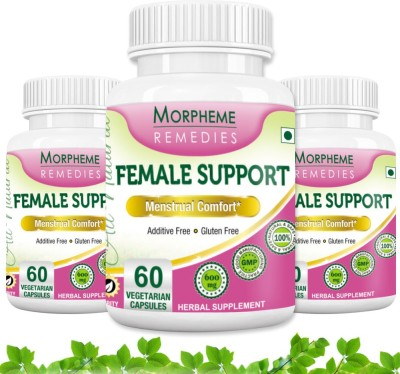 Morpheme Remedies Female Support 600 mg (Pack of 3)