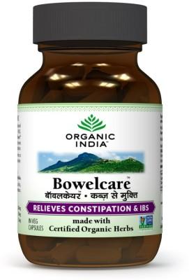 Organic India Bowelcare - 60 Capsules(200 g)