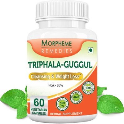 Morpheme Remedies Triphala-Guggul 500 mg