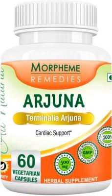 Morpheme Remedies Terminalia Arjuna 500mg Extract