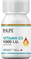 Inlife Vitamin D3 (Cholecalciferol) 1000 I. U. for Bone Health(60 No)