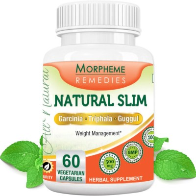 Morpheme Remedies Natural Slim (Garcinia, Triphala, Guggul)