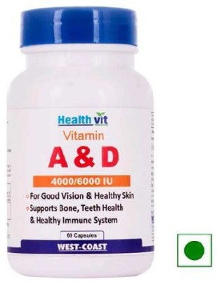 Healthvit Vitamin A & D 4000/6000 IU
